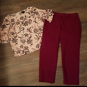Nice ankle pants from Liz Claiborne.  Size 4.